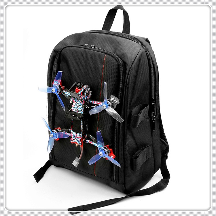 FPV Racing Drone Quadcopter Backpack Carry Bag Outdoor Portable Case for Multirotor RC Plane Fixed Wing image