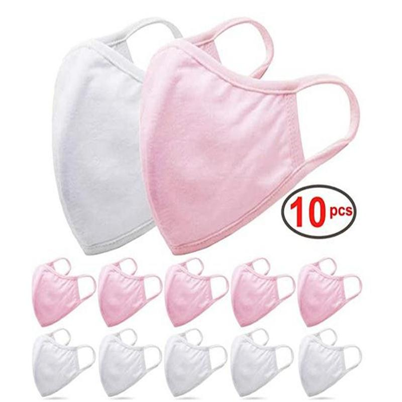 10pc Washable Face Mouth Maske Anti Dust Filter Face Maske Air Purifying Windproof Mouth-muffle Proof Mouth Face Maske Reusable