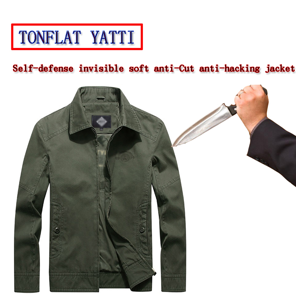 2020 New Elf-defense Anti Stab Jacket Soft Invisible Anti-chop Stab Police Fbi Swat Safety Civil Use Clothing Chaleco Anticorte