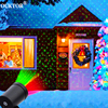 חיצוני שמיים כוכב לייזר מקרן שלב זרקור מקלחות חג המולד DJ דיסקו R & G גן נוף דקורטיבי דשא שלב אורות