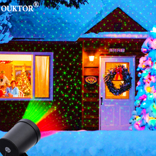 Extérieur ciel étoile Laser projecteur scène projecteur douches noël DJ Disco R & G jardin paysage décoratif pelouse scène lumières