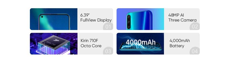 HUAWEI Honor Play 3 Kirin 710 F Octa Core Smartphone (2)