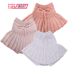 Knit Skirt Shorts Girls Toddler Baby Princess Kids Children New Pleated Bottoming