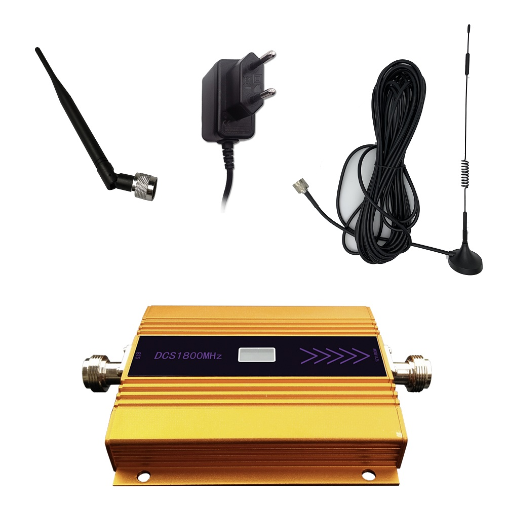 3G 4G LTE DCS 1800 MHz Mobile Unicom Mobile Phone Signal Booster Amplifier  Call Signal Cell Phone Signal Booster Amplifier