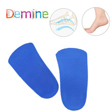 Orthotic Arch Support Insoles Silicon Gel Shoe Pads for Flatfoot Orthopedic X O Leg Flat Foot Men Women Health Care Insole Pad(China)