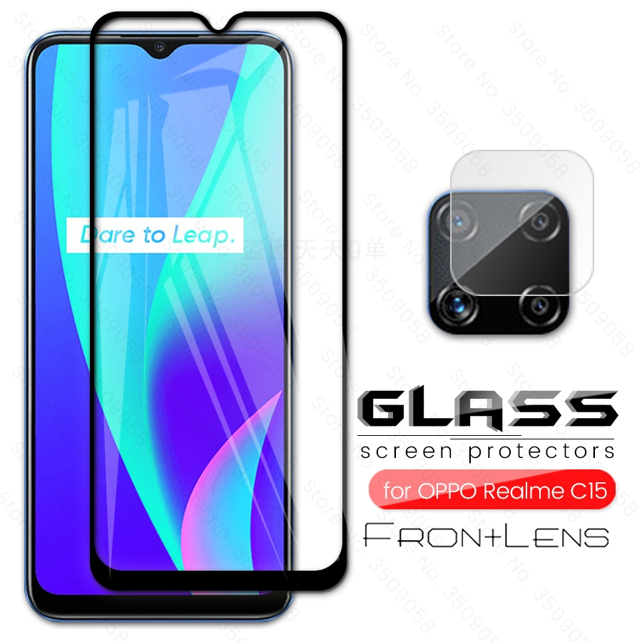 Для realme c15 стеклянная защита для камеры для oppo realme c 15 realmi c15 Защитное стекло для realmy настоящий я c 15 Защитная пленка для телефона 6,5''