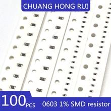 100 шт. 0603 SMD резистор 2,7 K Ω 2700 евро 1/10 Вт + / - 1% точность