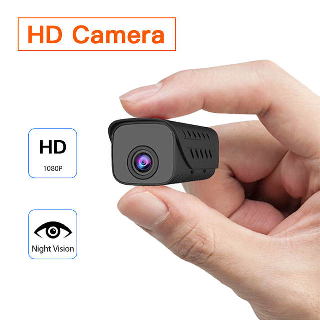 Boblov miniaturowa kamera dvr wykrywanie ruchu HD1080P mała cyfrowa kamera wideo dyktafon kamera Night Vision Cam