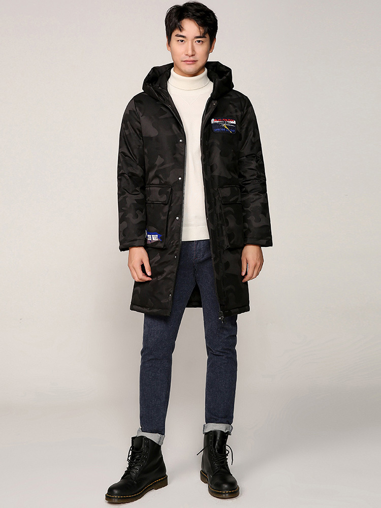 BG New Clothing Winterduck down Jackets Business Long Thick Winter Coat Men Solid Parka Fashion Overcoat J80142005 in Down Jackets from Men 39 s Clothing
