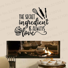 Food Quotes Wall Sticker Art Lettering Vinyl Wall Decal Dessert Cake Baking Shop Kitchen Interior Decor Cafe Mural PW355 yoyoyu wall decal quotes the kitchen is where the heart is vinyl wall stickers modern design fashion home decor interior diycy74
