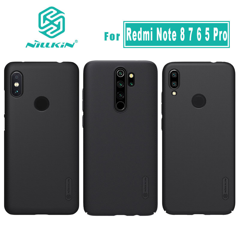 Nillkin for Xiaomi Redmi Note 8 7 Pro Case Cover Frosted Shield PC Back Case for Xiaomi Redmi Note 8 7 Pro Case