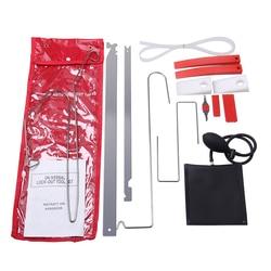 Car Emergency Tool Car Window Door Key Lost Kit Inflatable Air Pump Air Wedge Pry Tool Lock Out Emergency Open Unlock Pad Tool