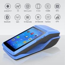 Imprimante portable Android 8.1, avec Bluetooth, pour reçus thermiques, commande Mobile, wi-fi 3G, PDA