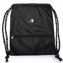 Спортивный инвентарь, простой светильник на шнурке, вместительный рюкзак для женщин и мужчин, ракетка и мяч, спортивная баскетбольная сумка