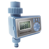 Garden watering timer  Automatic Electronic LED display irrigation control system Ball Valve watering timer  watering device|Garden Water Timers|Home & Garden -