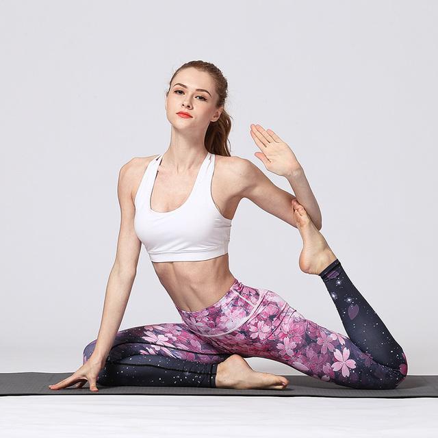 Sakura Yoga Pants
