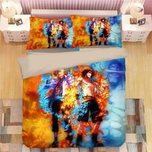 ONE PIECE Monkey D. Luffy Bedding Set Duvet Covers Pillowcases Vinsmoke Sanji Roronoa Zoro Comforter Sets Bed Linen