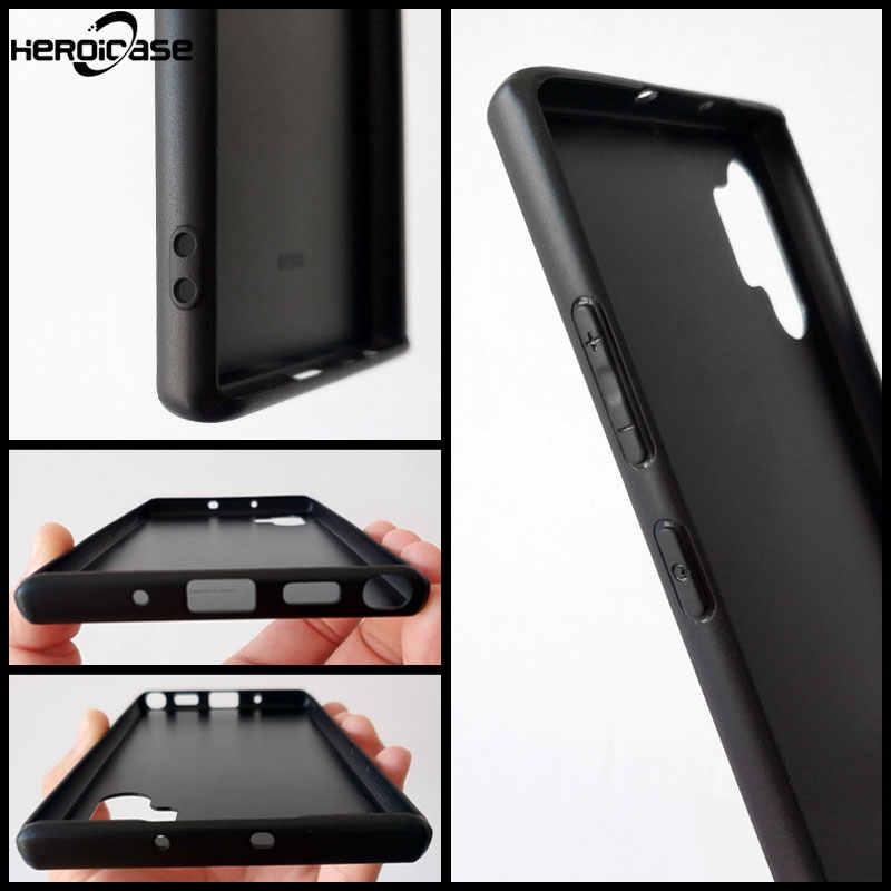 Для samsung Galaxy Note10 плюс Чехол для телефона Дедпул от Marvel закаленное Стекло Жесткий Чехол-крышка с узорами чехол из ТПУ с S10 9 8 e A70 2018 в виде ракушки