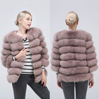 100% true fur coat W...