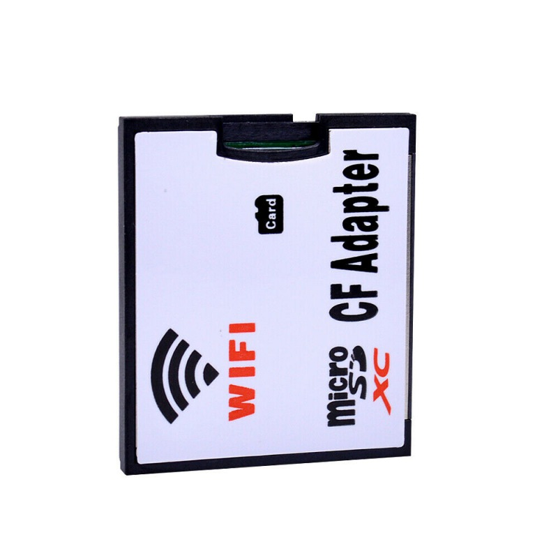 Memory Card Adapter TF To Wifi CF Micro-Secure Digital Memory Cards Converter For Camera Smartphone Tablet Computer