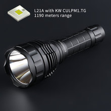 Convoy L21A with KW CULPM1.TG 8A driver ,1190 meters range, 21700 flashlight, torch,