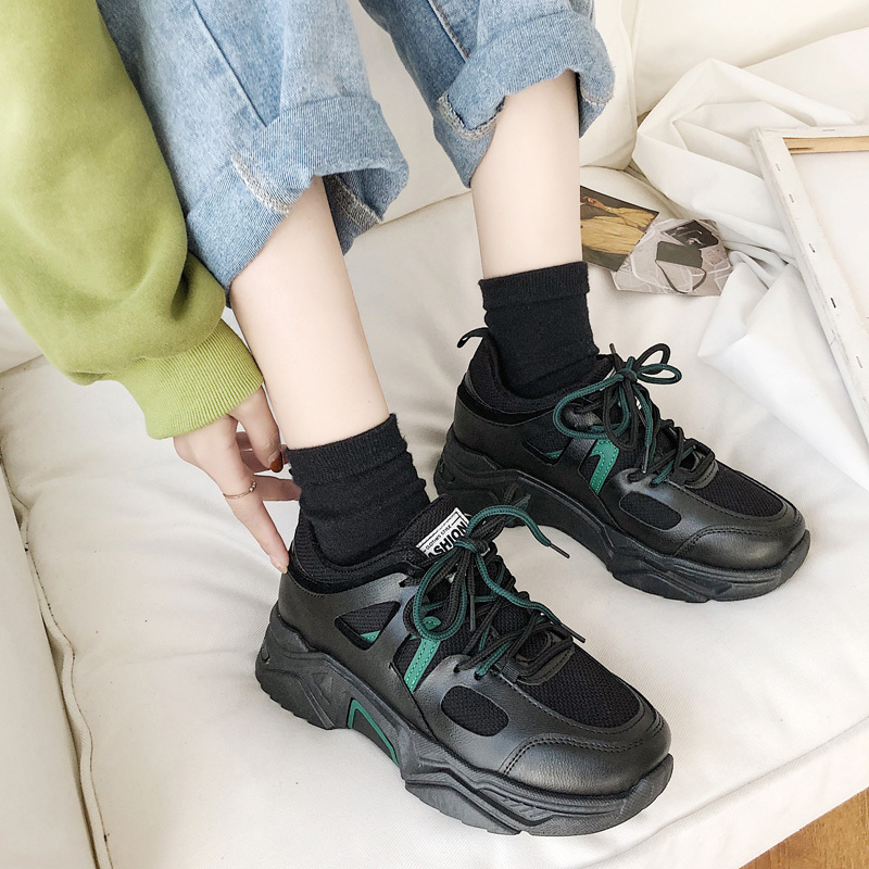 Women Shoes Casual Woman Vulcanized Shoes Dad Chunky Sneakers Luxury Shoes New Designer Basket Femme Tenis Zapatillas Mujer