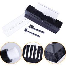 De Limpiador de discos de limpieza estática brocha para polvos removedor de Kits para giradiscos