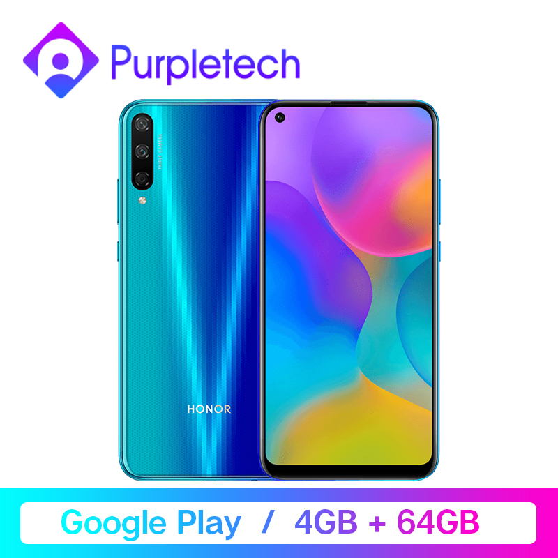 Honor Play 3 Google Play 4GB 64GB Kirin 710 F Octa Core Smartphone 48MP AI Triple caméras 6.39