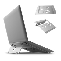 Laptop Notebook Stand Aluminum Ventilated Support Foldable and Portable Universal Desktop