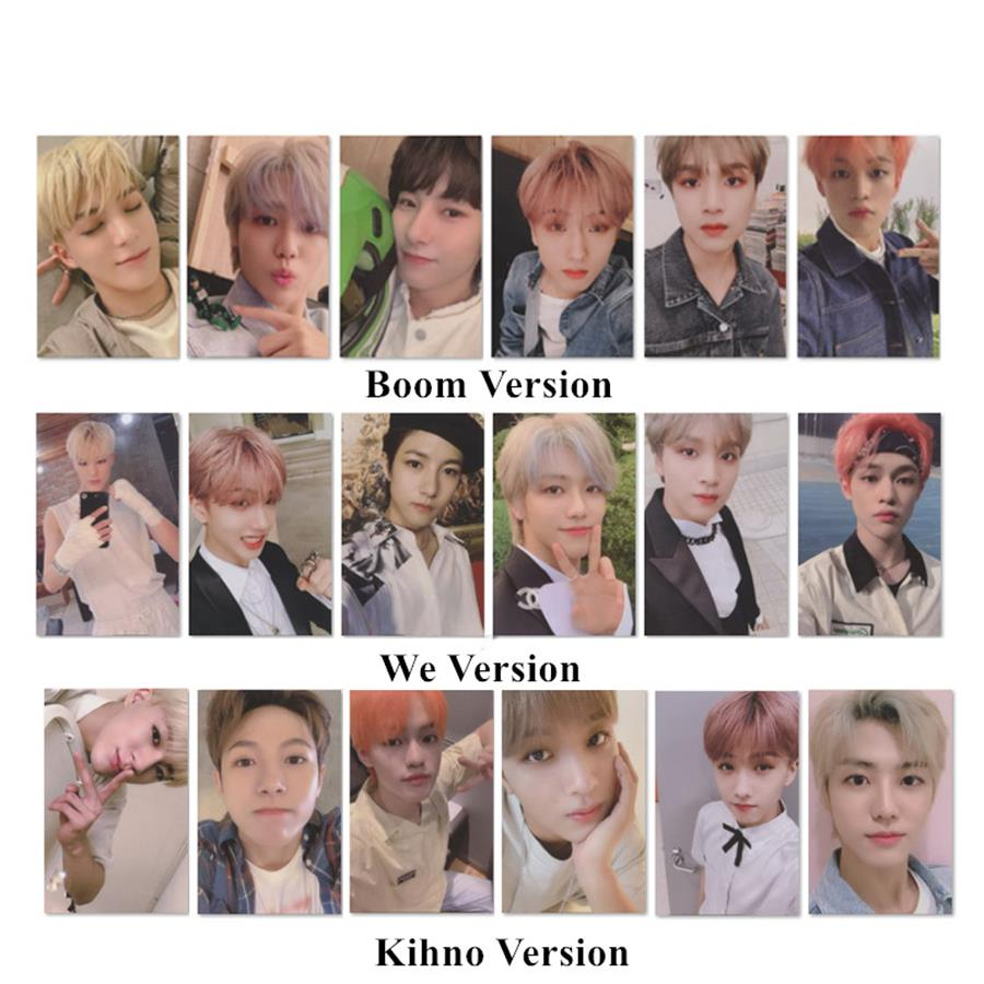 Kpop NCT DREAM WE BOOM Autograph Photocard Fanmade Mini 3th Album Cards Poster 18pcs