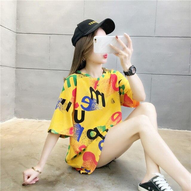 Купить женская футболка с коротким рукавом свободная уютная надписью картинки цена