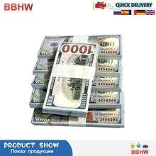 Бумажные небесные арайские банкноты, валюта, реквизит, предродительные деньги, доллар (US.1000), фэн-шуй, дни рождения, крест-заметок, удачи