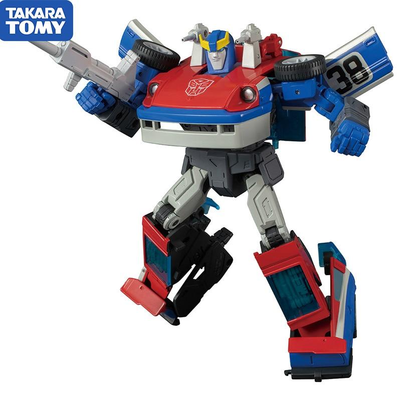 TAKARA TOMY Transformation Master Piece MP-19 Smokescreen MP MasterPiece KO Action Figure Collection Robot Toys