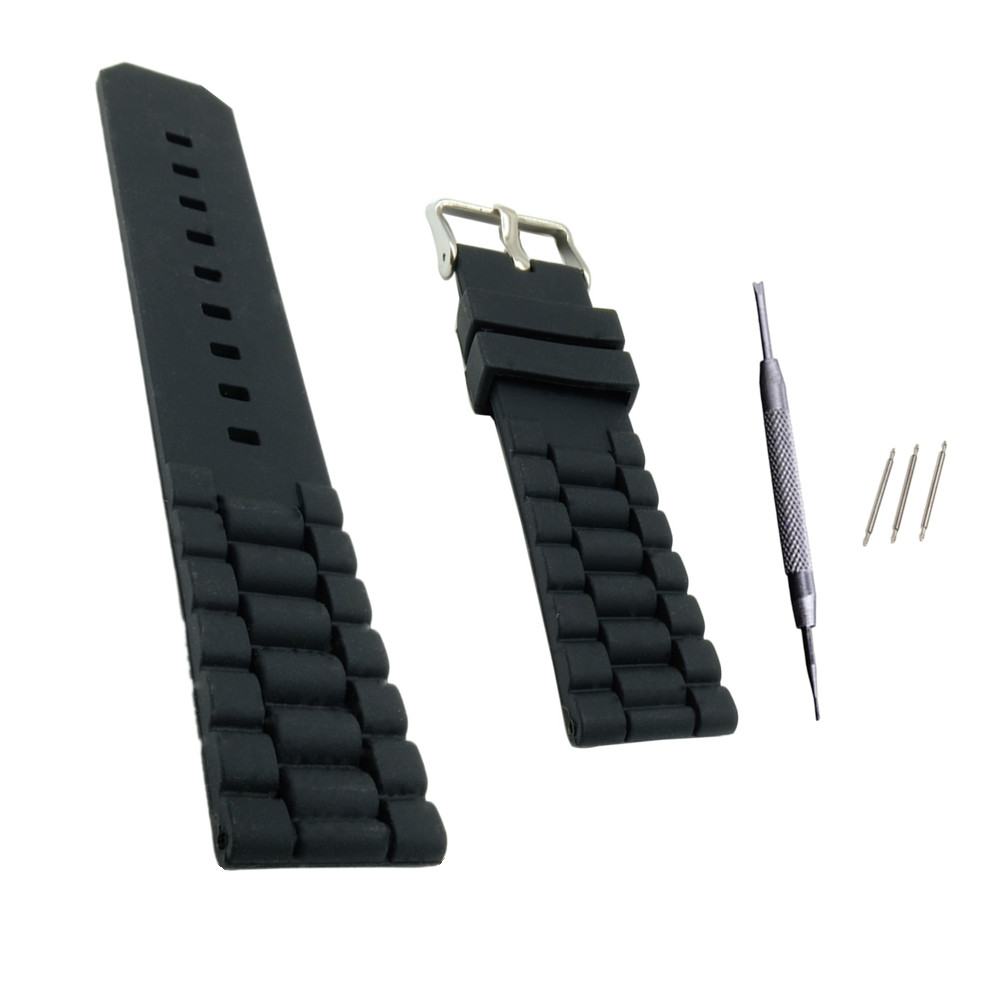 <font><b>20mm</b></font> 22mm <font><b>Silicone</b></font> Rubber Watchband for For Timex For Iwc For Tag Watch <font><b>Band</b></font> strap replace Quick Release Pin Strap <font><b>Bracelet</b></font> image
