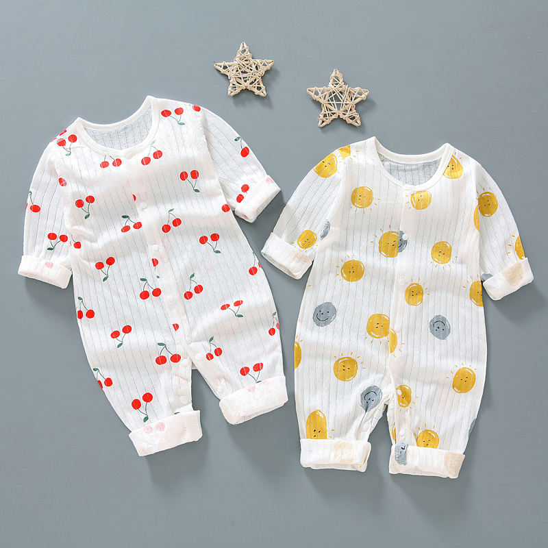 1 year baby boys girls clothes rompers birthday jumpsuit for summer newborn baby clothing infant girls boys outfit thin rompers