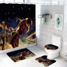 Black Shower Curtain...