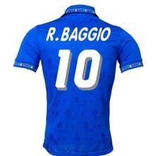 Camisetas retro Italy 1994 para hombre, camiseta con nombre personalizado, de alta calidad, ropa para parte superior masculina,