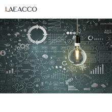 Laeacco back to school градации исследование доска Детские Обучающие