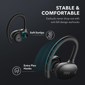 Image 3 - mifa TWS Earbuds Wireless bluetooth earphones Bluetooth 5.0 Stereo Sport headphones  3D Stereo Sound Earphone with Mic