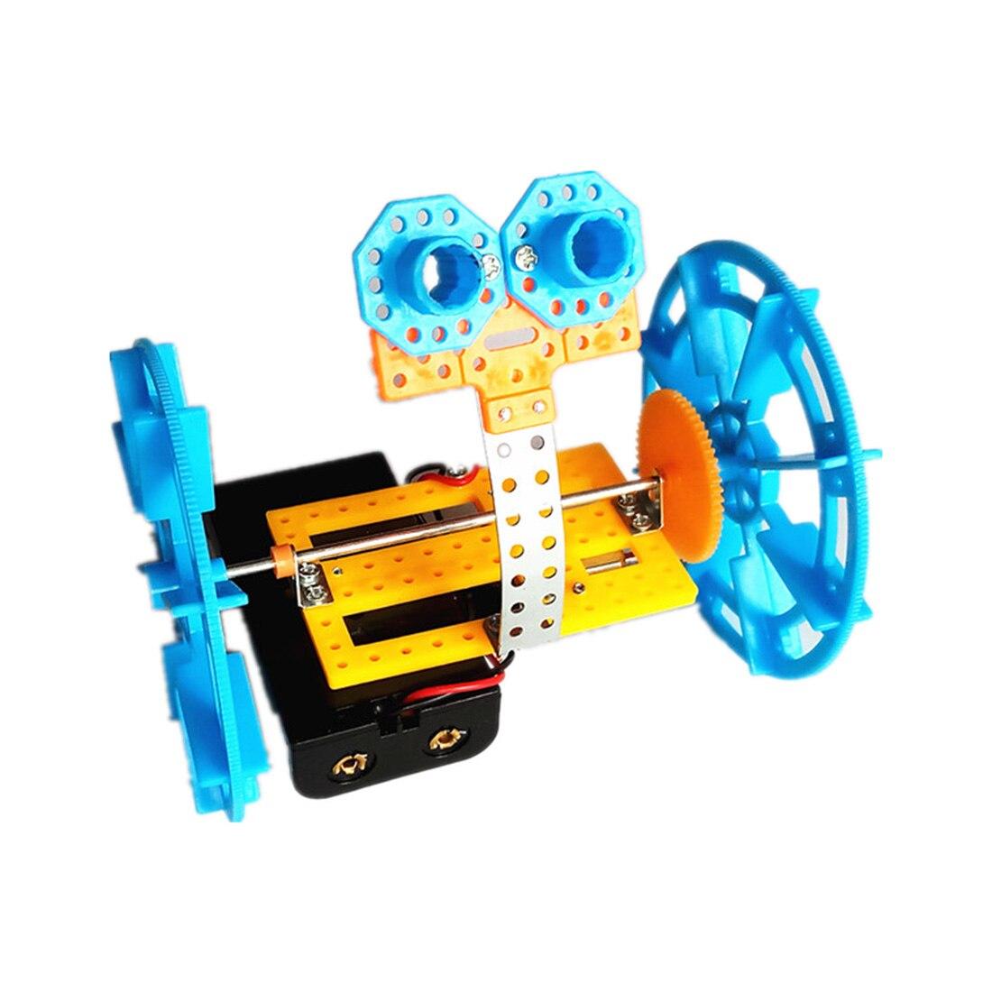 Feichao DIY образовательный научный эксперимент два колеса баланс автомобиля Робот физика игрушки для экспериментов для создания малого изобре...