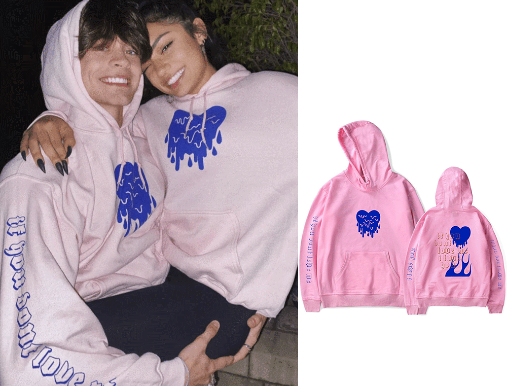 AVANI 'IF YOU DON'T LOVE ME' Print Hoodie Sweatshirts Avani Gregg&Chase Hudson Hoodie Pullover Unisex Fashion Summer Tracksuit