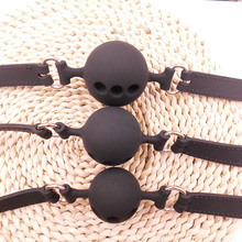 Silicone Open Mouth Gag Sex Bondage BDSM Fetish Mouth Restraints Sex Toy Ball Gag Exotic Accessories Open Mouth Gag novelty exotic accessories handcuffs gag ball open mouth adult game bdsm bondage sex toys for woman lingerie slave fetish toy