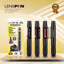 10 adet orijinal hakiki marka LENSPEN LP 1 toz temizleyici kamera Lens temizleme fırça uçlu kalem kiti Canon Nikon Sony için filtre DSLR SLR