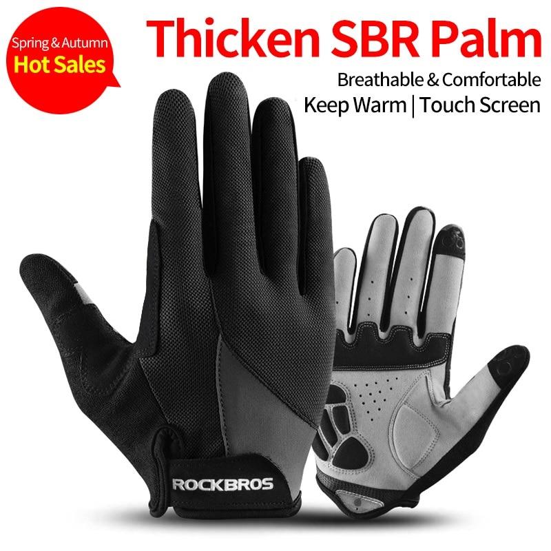 Cycling Gloves Touch Screen MTB Bike Bicycle Glove spring autumn men women glove