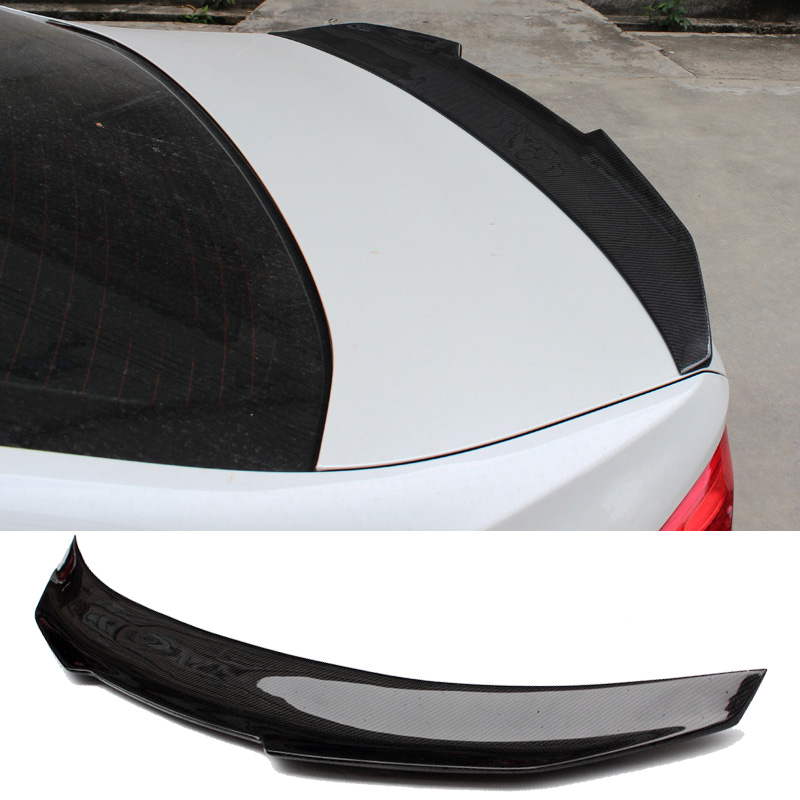 PS-0M Style Carbon fiber Trunk Spoiler For BMW 123456X6 Series E90 E92 E93 F30 F80 G30 F10 F16 E71 F22 F32 F36 image
