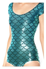 Women Funny Tshirt Cobalt Blue Fish Mermaid Dragon Scales Pattern Graphic Women Onesies Jumpsuit All Over Printed T Shirt blue mermaid scales tassel necklace
