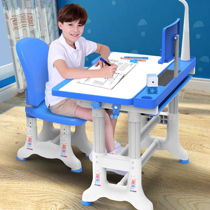 Multifunctional Kid Study Table детский стол Ergonomic Children Homework Desk Student Adjustable Desk And Chair Combination