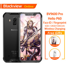 Blackview BV9600 Pro Original IP68 Waterproof Rugged Smartphone 6GB+128GB Android 8.1 19:9 FHD AMOLED 4G Outdoor Mobile Phone