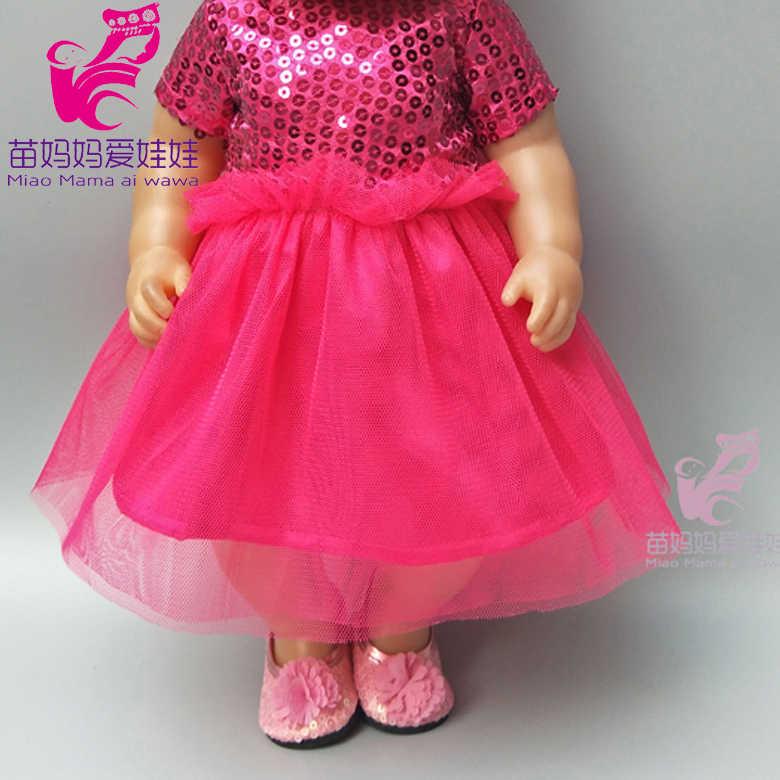 """18 """"人形コートスポーツ衣装セットフィットため 43 センチメートルベビー新生児人形の服ドレス人形アクセサリー"""