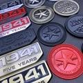 Willys Badge 1941 семьдесят Five Years 3D Металлическая Эмблема для машины Decal Sticker For Jeep Grand Cherokee Patriot Liberty Gladiator J12